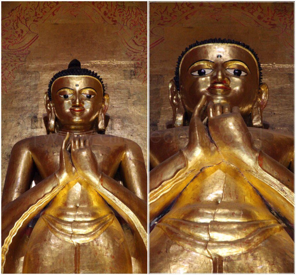 Tượng Phật trong đền Ananda