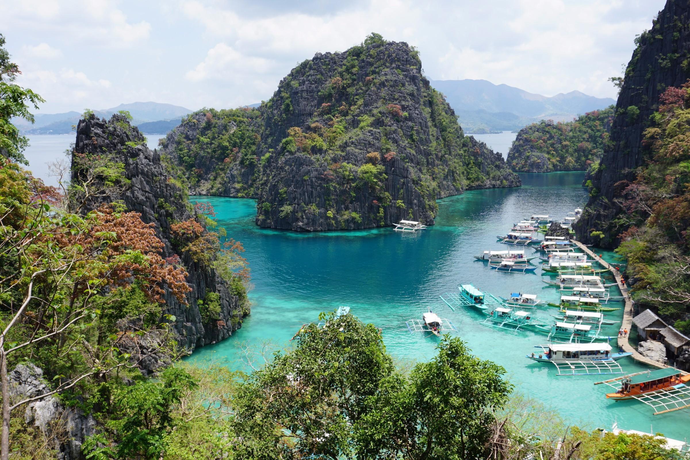 Kinh nghiệm du lịch bụi Philippines - Kayangan Lake, Coron, Palawan