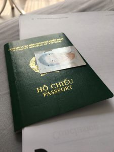 Hồ sơ xin visa Trung Quốc