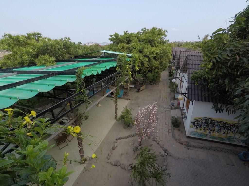 Villa Đảo Hoa Vàng - Khu phòng khách sạn