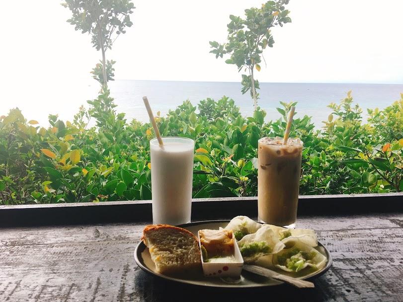 Ăn sáng ở Bohol Farm (with a view)