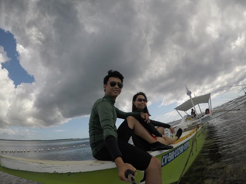 Island hoping tour ở Bohol