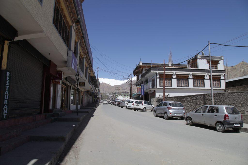 Đường phố Leh