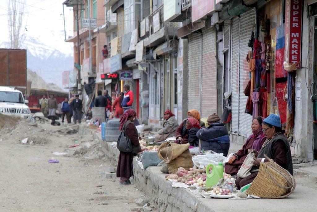 Đi chợ ở Leh